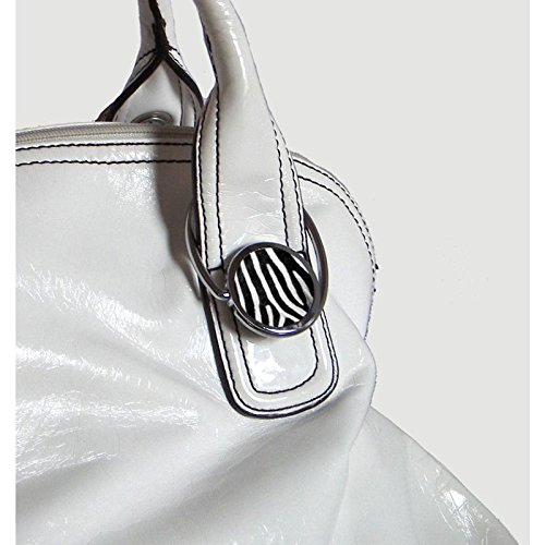 Zebra design Miss Kha/ Foldable Handbag Hook