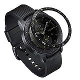 Ringke Bezel Styling for Galaxy Watch [42mm] / Gear Sport Bezel Ring Adhesive Cover Anti Scratch Stainless Steel Protection [Stainless] for Galaxy Watch Accessory GW-42-03