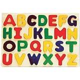 Puzzled Alphabet Raised Wooden Puzzle for Children