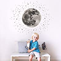 Koko Kids Moon & Stars Fabric Wall Decal ~ for Baby...