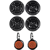 (4) Polk Audio DB522 5.25 600w Car Audio Marine/ATV/Motorcycle/Boat Speakers