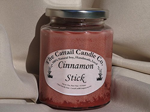 Cattail Candle (Cinnamon Stick - 100% Soy Candle, 12 fl oz)