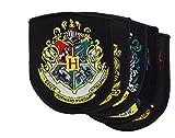Harry Potter Patch Set - Applique Patches Crest - Official - Cinereplicas (Classic Set of 5)