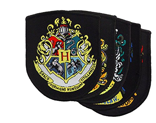 Harry Potter Patch Set - Applique Patches Crest