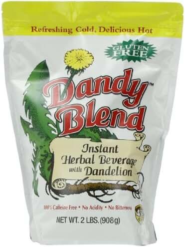Dandy Blend, Instant Herbal Beverage with Dandelion, 2 lb. Bag