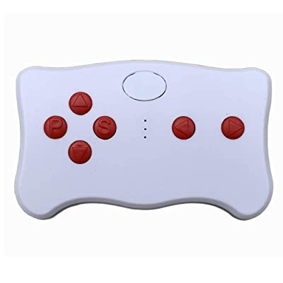 wellye 2.4G Bluetooth Remote Control Red Button Transmitter Accessories Kids Powered Wheels Children Electric Ride On Toy Car Replacement Parts: Toys & Games