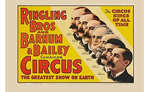 Ringling Brothers Circus Posters - 5