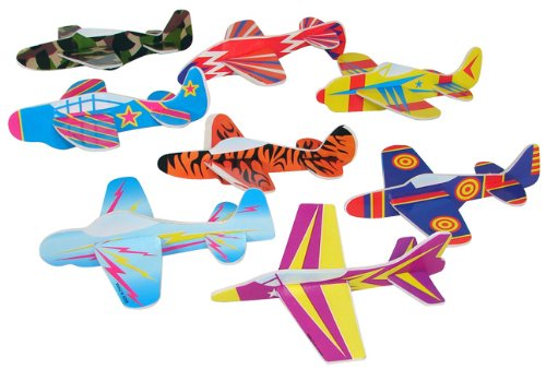 Glider Airplane Assortment Fun Express product image