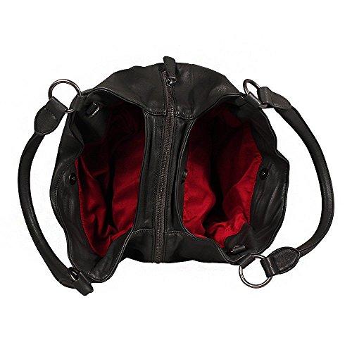 Fritzi aus Preußen Womens Handbag Clarissa Nappa Black Nero
