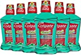 Colgate Total Pro-Shield Mouthwash, Spearmint - 500 mL (pack of 6)