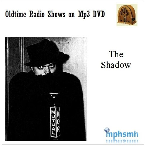 THE SHADOW Old Time Radio (OTR) series (1930-1954) Mp3 DVD 220 episodes