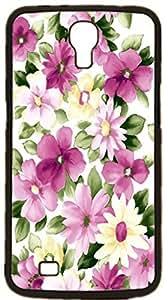 Sun Flower Flowering Rose Hard Case for Samsung Galaxy Mega 6.3 I9200 I9205 ( Sugar Skull )