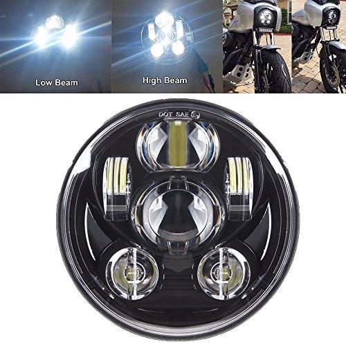 Samlight 5.75 inch Round Headlamp 45W Hi/Lo Beam 5 3/4