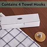 Newness Robe Hooks, [Strong & Sturdy] 304 Stainless