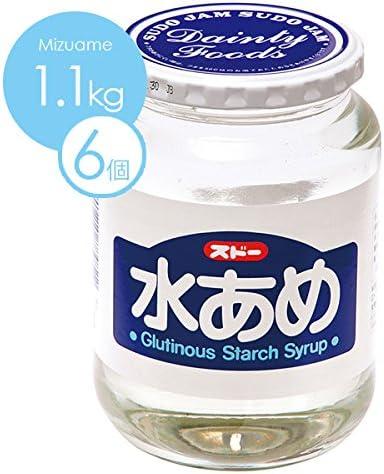 スドージャム 水あめ1.1kg 1ケース(6個入り)