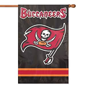 Brand New Tampa Bay Buccaneers NFL Applique Banner Flag