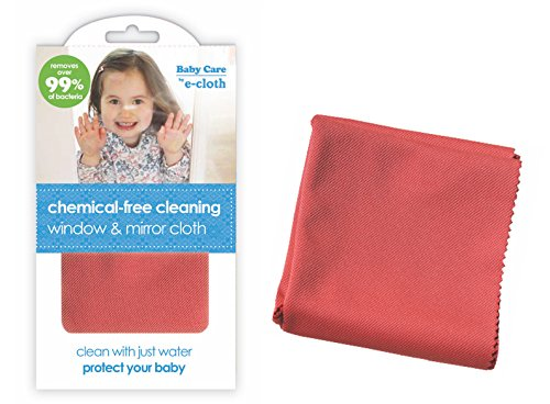 e-cloth Baby Chemical-free Water Only Cleaning Window & Mirror Cloth