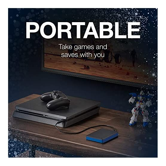 Seagate Game Drive 4TB External Hard Drive Portable HDD – Compatible with PS4 (STGD4000400) 51IDwcvY0qL. SS555