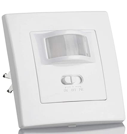 (LA) Oferta Detector Presencia, Sensor de Movimiento Pared empotrable Standard 160º. Compatible