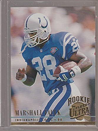 1994 Fleer Ultra Marshall Faulk Colts Rookie Football Card
