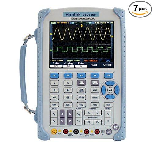 Hantek 2 CH DSO1102B Digital Handheld Oscilloscope Multimeter 100MHz 1Gsa//S