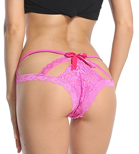 e91c30c9808 Sofishie Sexy Cage Back Panties - Pink - Large - Import It All