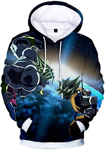 Con Super Cappucio Pullover 3d Felpa Otaku Disegni Uomo 1049 Per Goku Ball Battaglia Di Saiyan Wu Cosplay Dragon Stampato Flychen RqpFCwx