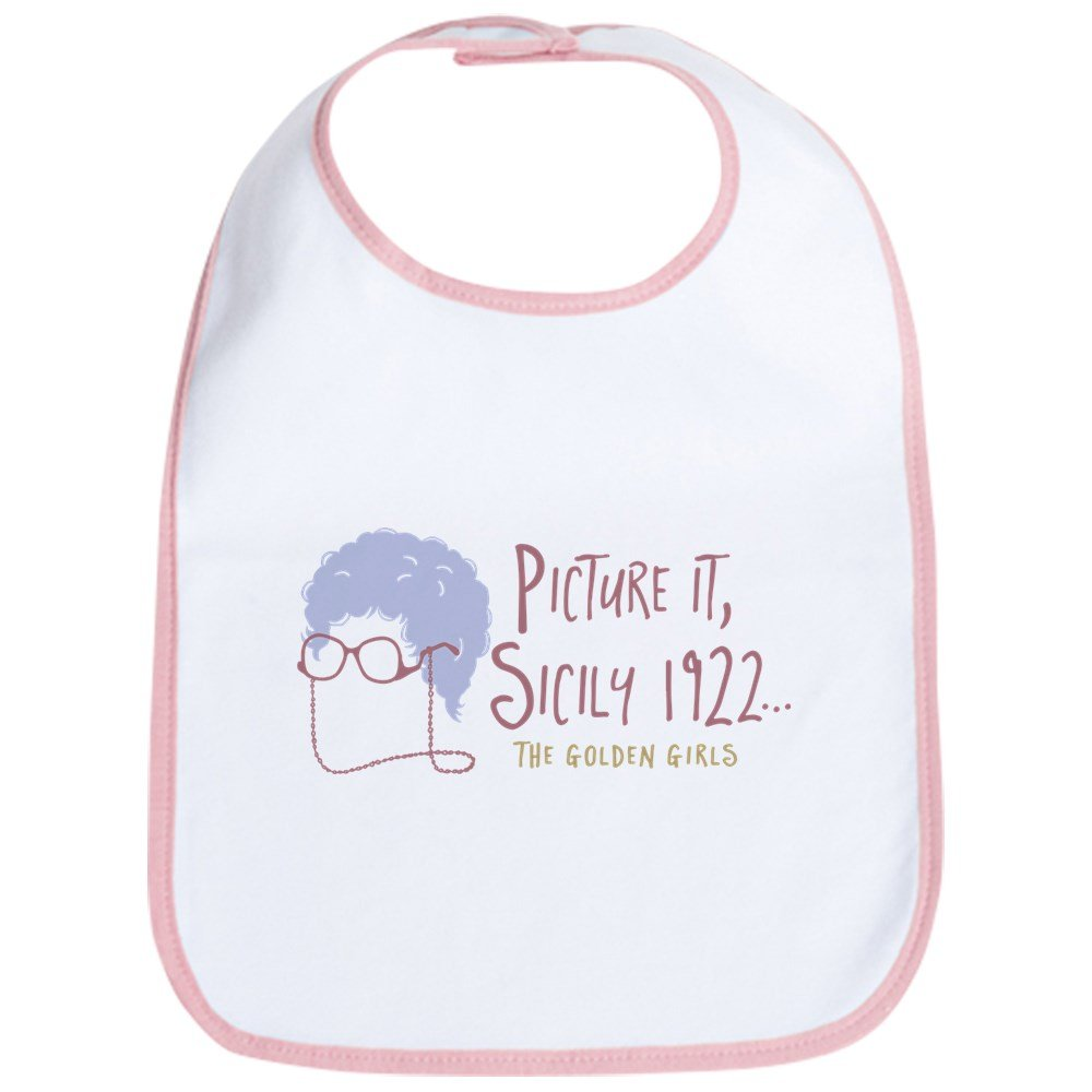 a0b490b2a Amazon.com: CafePress - Golden Girls Picture It Baby Bib - Cute Cloth Baby  Bib, Toddler Bib: Clothing