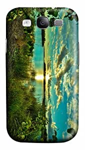 covers shop quiet lake sunrise PC case/cover for Samsung Galaxy S3 I9300