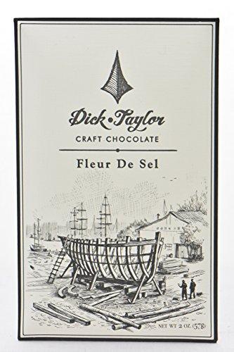 Price comparison product image Dick Taylor Craft Chocolate - Fleur De Sel Dark Chocolate Bar