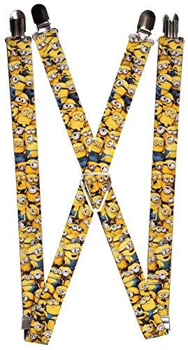 Minions Animated Cartoon Movie Minion Collage Fun - Minion Suspenders