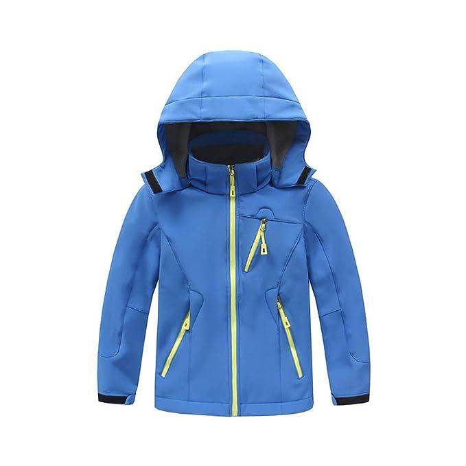 Zhhlaixing Niños Chaqueta de Esquí Impermeable Chaqueta de Nieve Abrigos Hooded Jacket Impermeable y Transpirable: Amazon.es: Ropa y accesorios