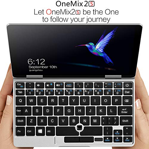 "One Netbook One Mix 2S Yoga 7"" Pocket Laptop Ultrabook Windows 10 Portable Mini Laptop UMPC Intel Core M3-8100Y Laptop Touch Screen Tablet PC 8GB/256GB+2048 Level Original Stylus Pen"