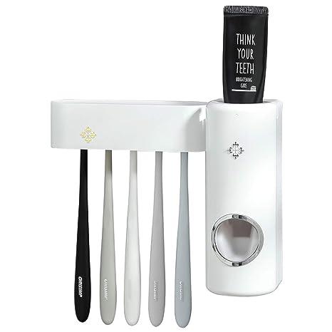 Amazon.com: LDK.S Dispensador de pasta de dientes automático ...