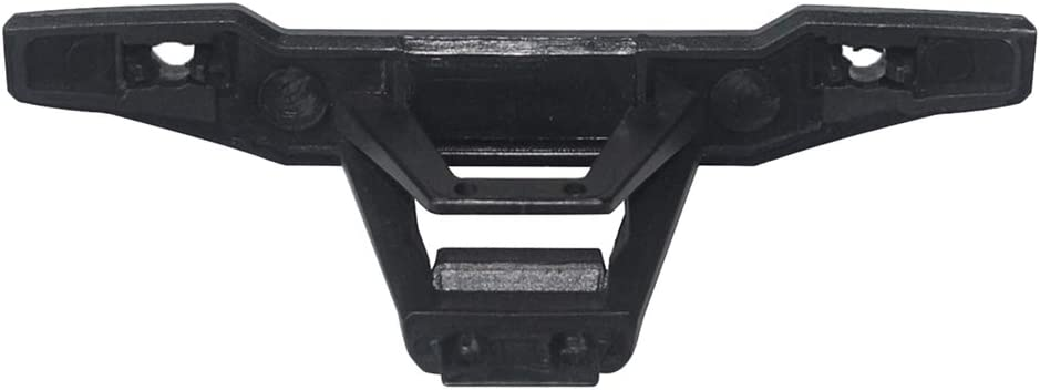 Black Dailymall Plastic Front Rear Bumper for 1:10 Scale XLH 9125 4WD Big Feet Truck RC Racing Car Model Parts