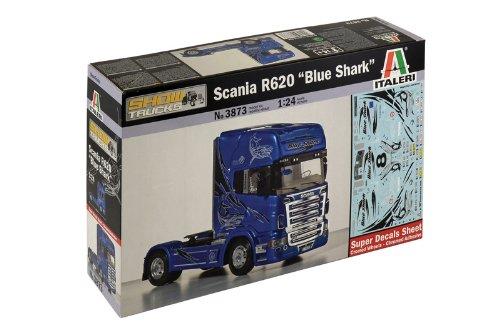 Italeri 510003873 - 1:24 Scania R620 Blau Shark Shark Shark 21da87