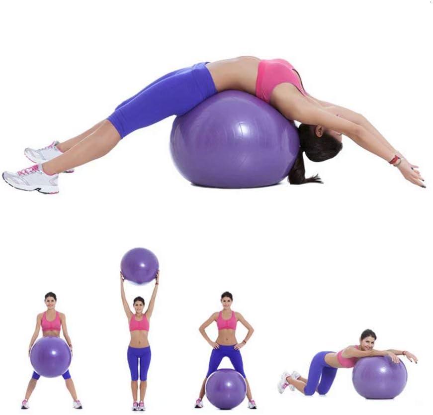 NEWYIH Pelota de yoga pelota pilates ball cojin equilibrio ball ...