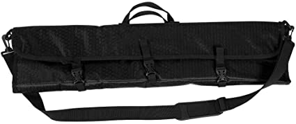 Red Black Archery Bag Recurve Takedown Outdoor Hunting Bow Case Holder Canvas