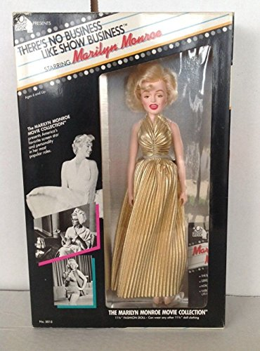 Theres No Business Like Show Business Marilyn Monroe Doll New in Box 1982