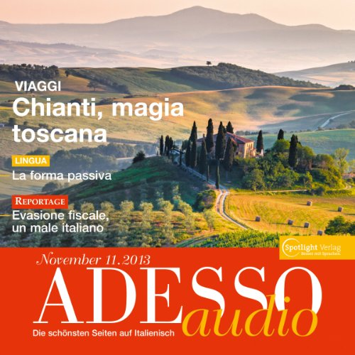 ADESSO Audio - Vestirsi in italiano. 11/2013: Italienisch lernen Audio - Das Passiv