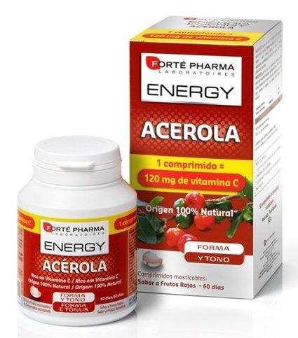 Forte Pharma Energía Acerola Vitamina C 60 Comprimidos Masticables
