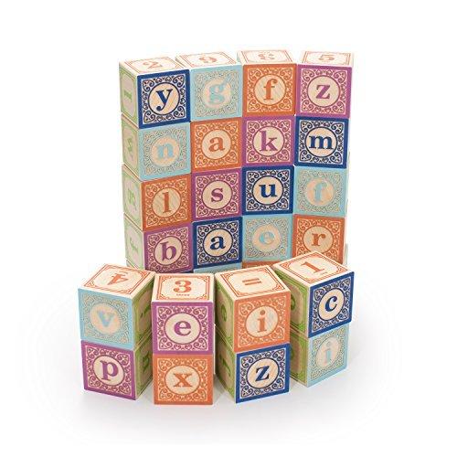 【初売り】 Uncle Goose Classic - Lowercase ABC USA Blocks - Made Made in USA [並行輸入品] B01K1ULC14, ジョイポート:75da0de7 --- clubavenue.eu