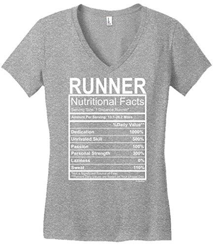 Runner Running Nutritional Facts Juniors