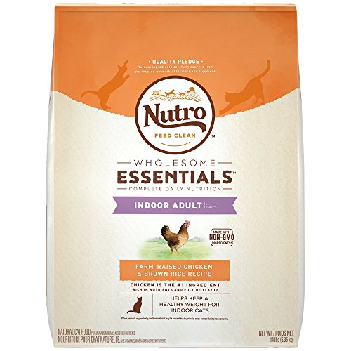 - Natural Choice Indoor Adult Cat Chicken And Whole Brown Rice Formula - 14 Lbs. (6.35 Kg)
