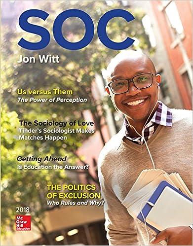 Soc 2018 kindle edition by jon witt politics social sciences soc 2018 5th edition kindle edition by jon witt fandeluxe Images