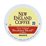 Cheap New England Coffee Single Serve K-Cup, New England Breakfast Blend, 12 Count (pack of 6)