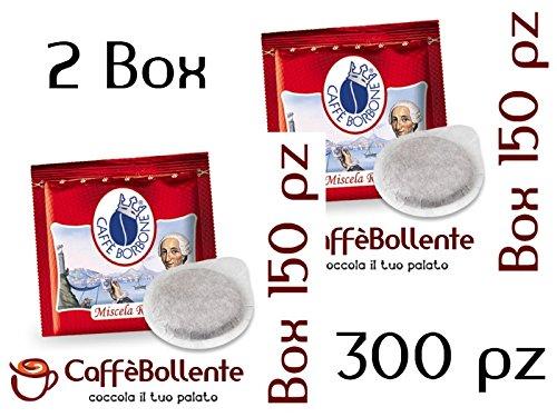 2 opinioni per Caffè Borbone- Miscela Rossa- Cialde ESE- 300 pz (2x150 pz)