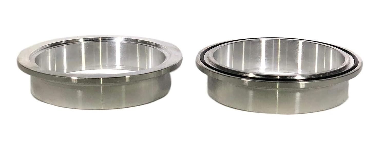 4.00 Aluminum Flange Pair