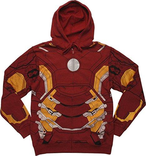 iron man hoody - 1