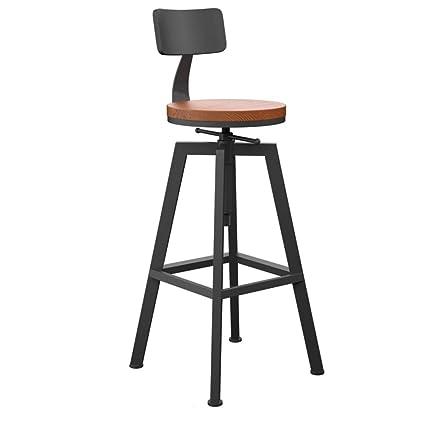 Prime Amazon Com Loft Metal Industrial Bar Stool Height Ibusinesslaw Wood Chair Design Ideas Ibusinesslaworg